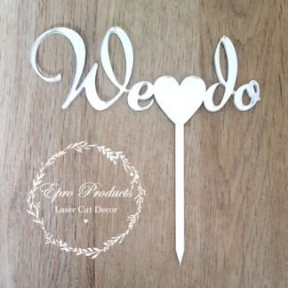 we-do-cake-topper