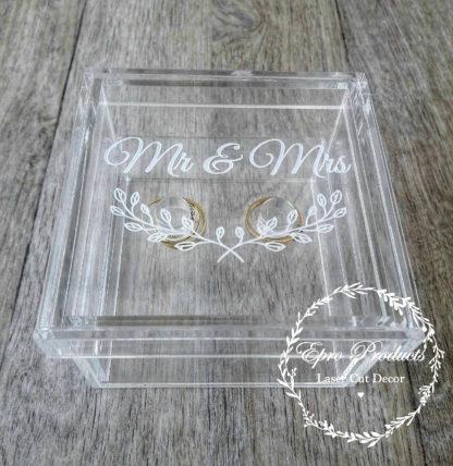 clear-laser cut-ring-box-mr & mrs