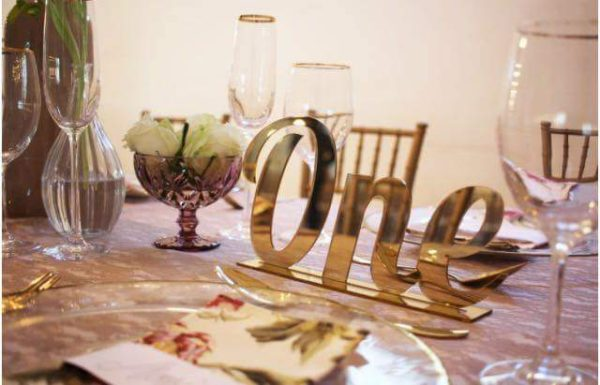 Table Numbers & Names