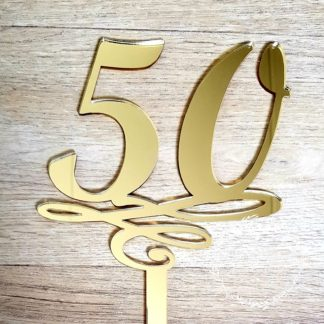 50-birthday-cake-topper