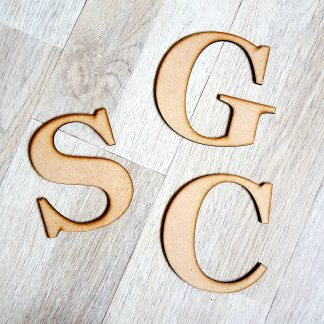 Wooden Words & Letters