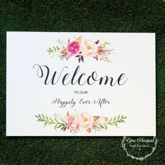 welcome-sign-floral-wedding
