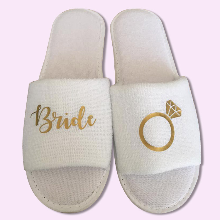 0cf70975c1e Bridal Ring Slippers