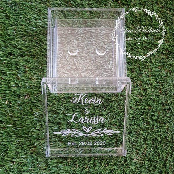 custom-clear-engraved-ring box