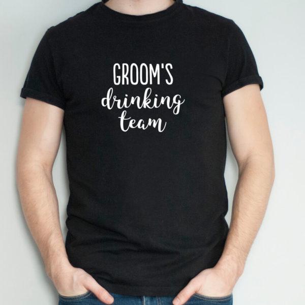 groom-groomsman-t shirt-wedding