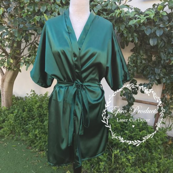 emerald-green-satin-robe