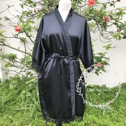 black-satin-robe-wedding