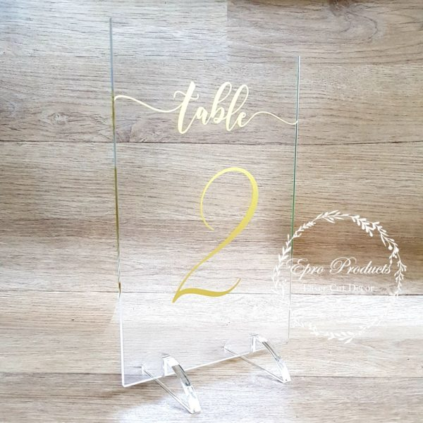 clear-wedding-table-number