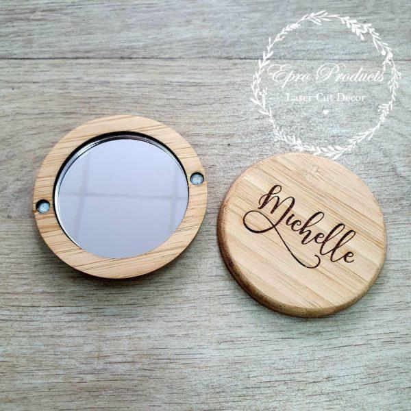 compact-mirror-wedding-wood