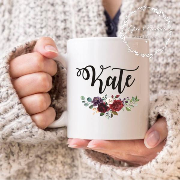 custom-floral-name-mug