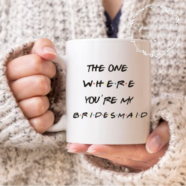 friends-theme-bridesmaid-mug