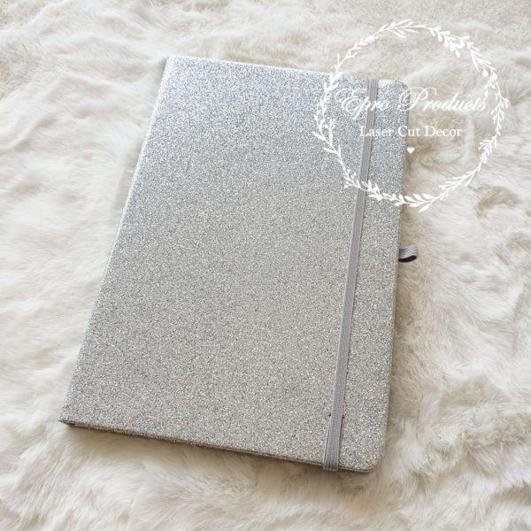 silver-glitter-notebook-gift