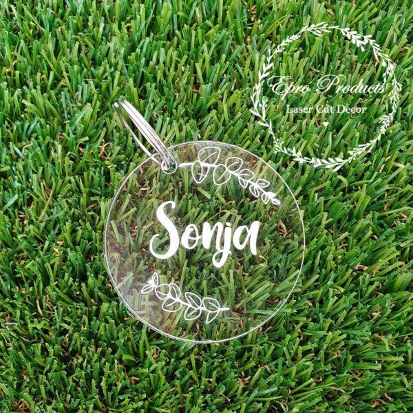 round-engraved-perspex-keyring